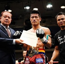 japanese muay thai champion