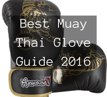 Best Muay Thai Gloves Guide 2016