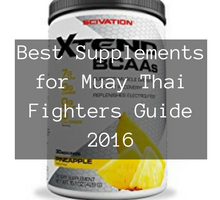Top 10 Supplements for Muay Thai Fighters