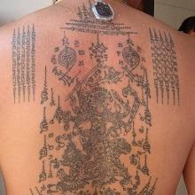 Sak Yant Thailands Protective Tattoos Muay Thai Tattoos